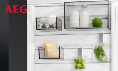 Aeg Kühlschrank Hilfe : Aeg kühlschrank mit customflex elektrogeräte im raum